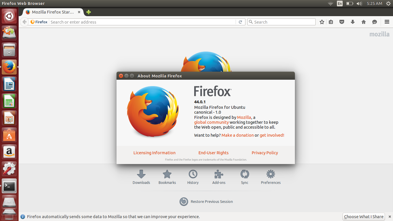 Ubuntu Buzz !: How To Manually Upgrade Mozilla Firefox to