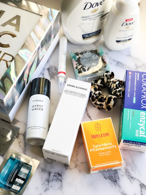 Покупки Notino DOVE, Grown Alchemist, Byredo, Weleda, Curaprox Loreal