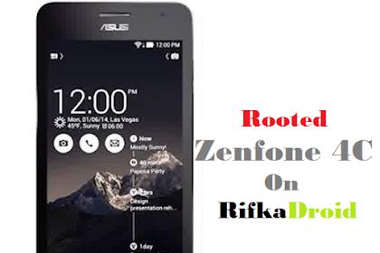 Cara Root Asus Zenfone 4C Tanpa PC
