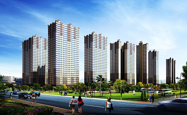 Phối cảnh dự án chung cư Booyoung Vina
