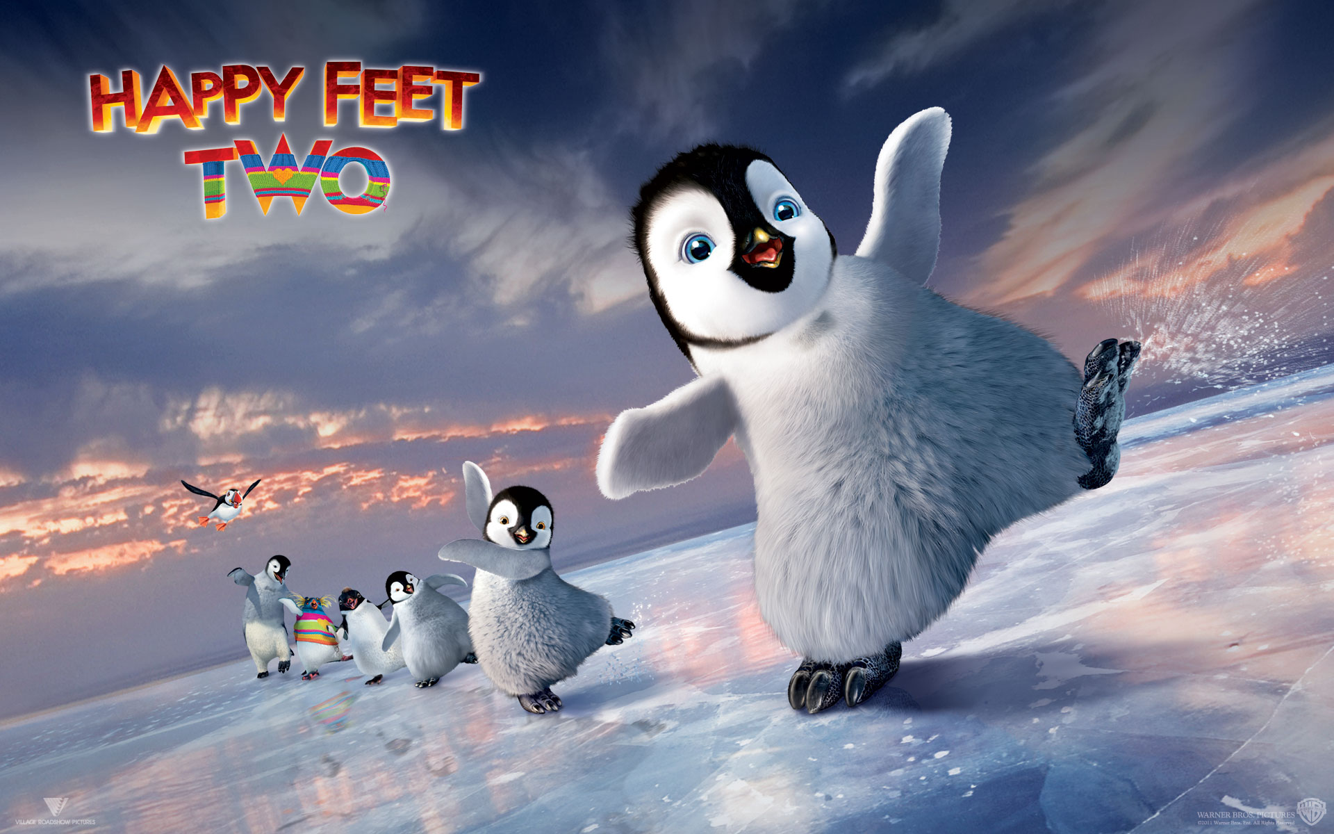 Happy Feet Two Movie Theme And Wallpapers For Windows 7