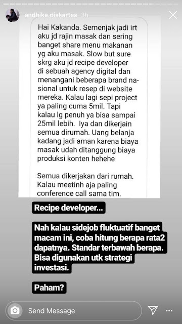 Jadi Recipe Developer