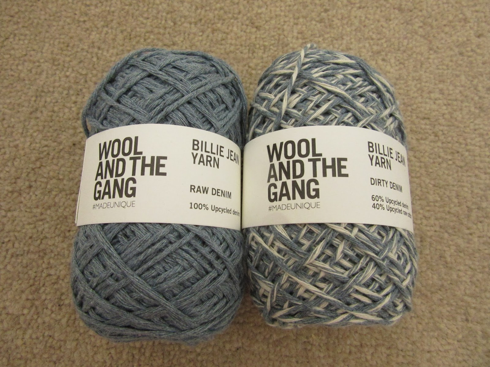 A woolly yarn wool the gang billie jean yarn review - Gang and the wool ...