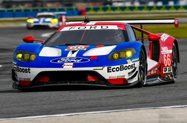 Ford Chip Ganassi Racing Wins GTLM Title at Rolex 24 At Daytona