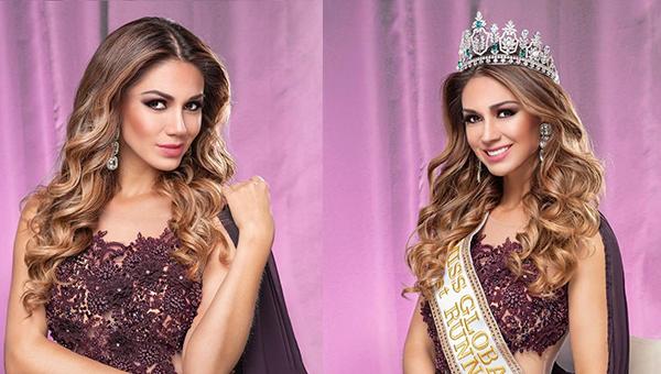 Hany Portocarrero, virreina en Miss Global 2019