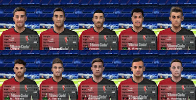 PES 6 Facepack Newell's Old Boys 2018/2019 by Cuervo96