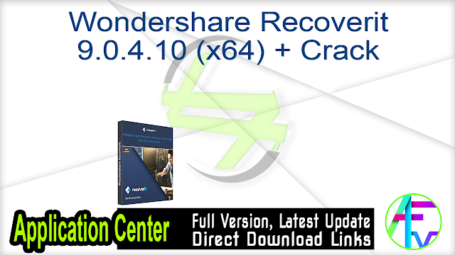 Wondershare Recoverit 9.0.4.10 (x64) + Crack