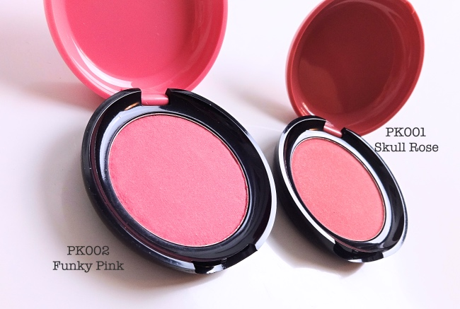 Etude House Pink Skull Cream Blusher review swatches