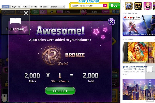 Collect Slotomania Free Coins on Mobile