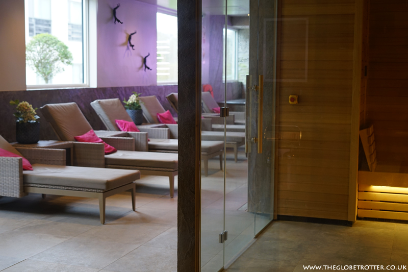 ANA spa at Holiday Inn Winchester