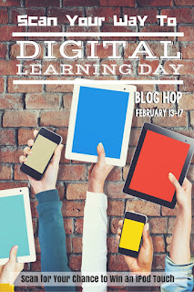 Digital Learning Day Blog Hop|Win a iPod Touch!