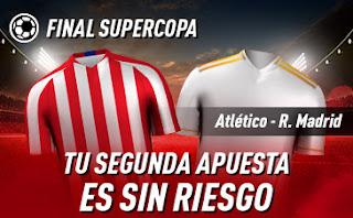 sportium promo Final Super Copa Real Madrid vs Atletico 12 enero 2020