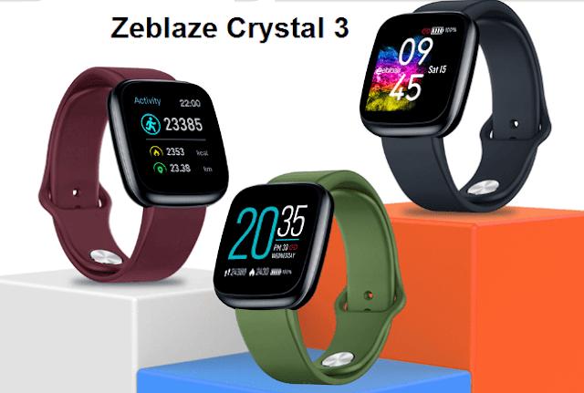 Zeblaze crystal 3 smartwatch Best Prices