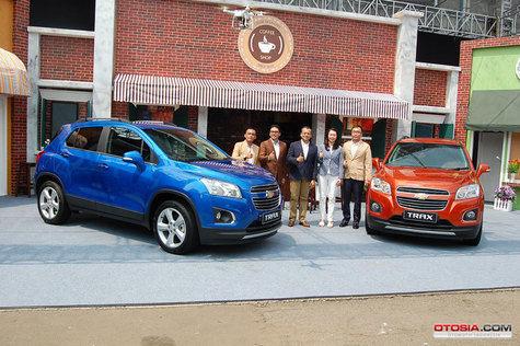 Chevrolet Trax sudah resmi diluncurkan oleh GMI, Berapa harganya?