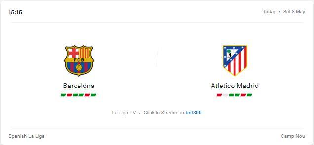 Barcelona vs Atletico Madrid Livestream, Preview and Prediction 2021