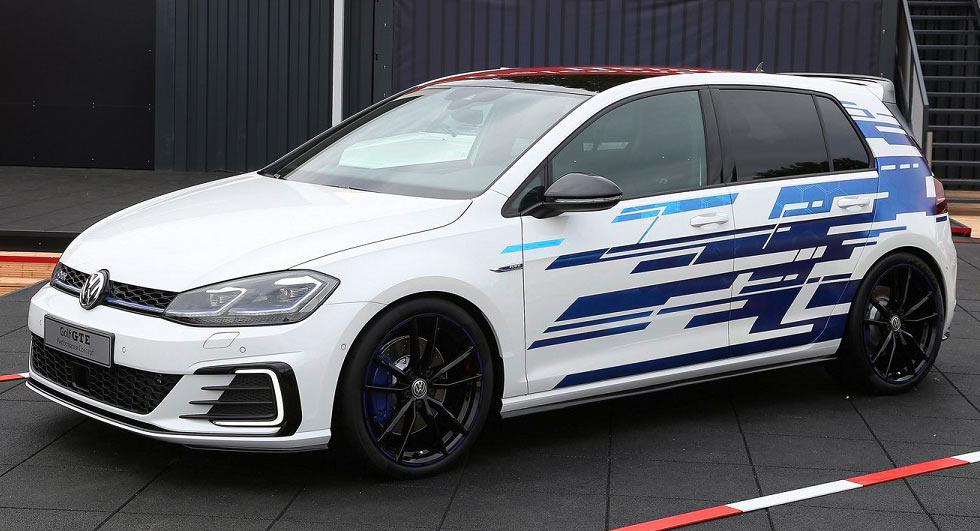 vw golf gte performance concept unveiled with 272 hp. Black Bedroom Furniture Sets. Home Design Ideas
