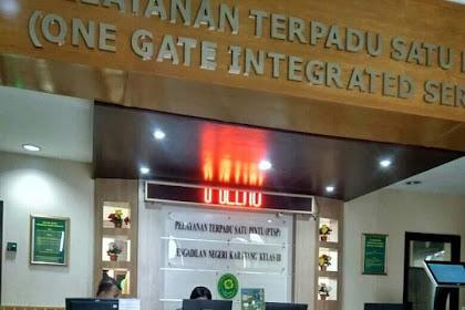 Kegiatan Sidang di Pengadilan Negeri Karawang Pada Rabu, 27 November 2019