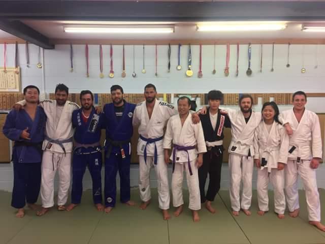 Auckland BJJ: Training report: back control