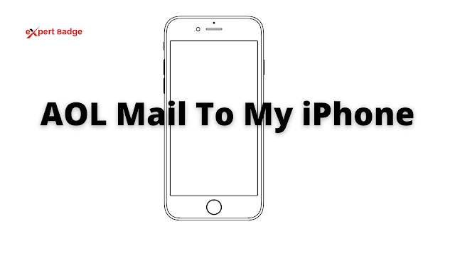 AOL mail on iPhone