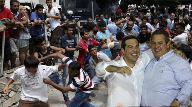 Ελλάς Ελλήνων λαθρομεταναστών!!!
