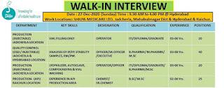 ITI/ Diploma/ Graduate Job Vacancy  Walk in Interview Shilpa Affordable Healthcare Ltd