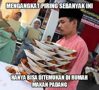35 Meme Kocak Tentang Nasi Padang