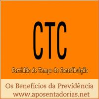 Certidão de Tempo de Contribuição – CTC – o que é e quando é usada.