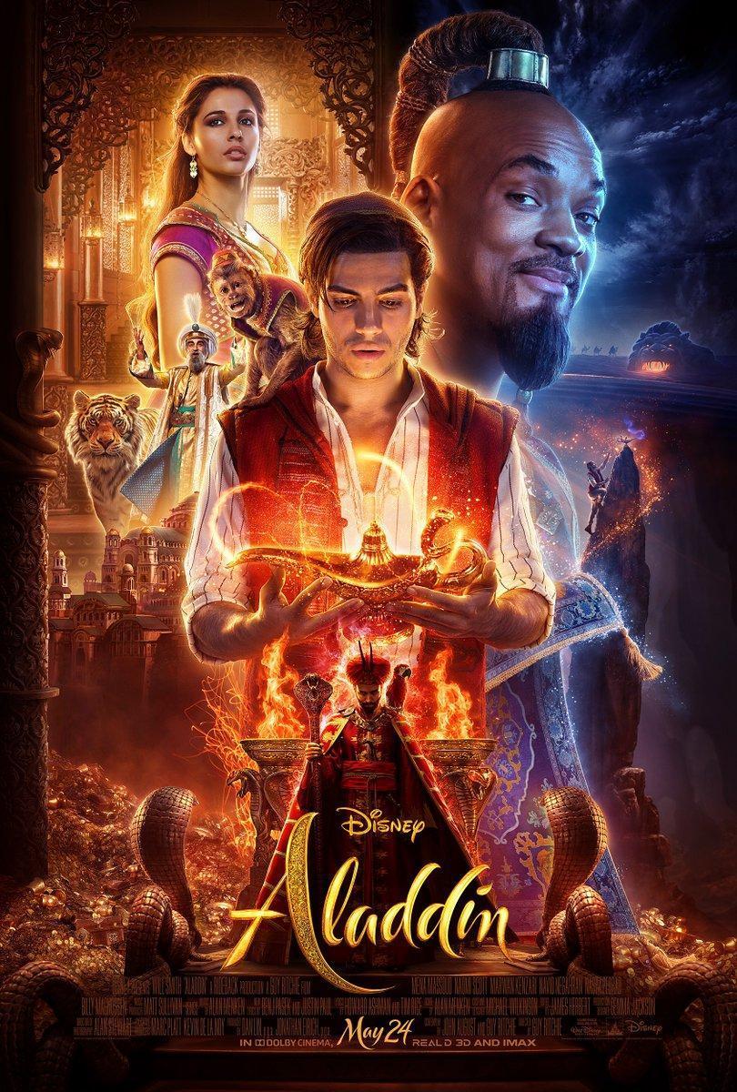 Download Aladdin (2019) Full Movie in Hindi Dual Audio BluRay 720p [1GB]