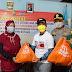 Hari Buruh, Bupati Bersama Dandim dan Kapolres Batang Menyerahkan Ratusan Paket Sembako Bagi Pekerja Terdampak Covid-19