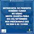 O Prefeito Robério Cunha dará uma entrevista na Rádio Líder FM nesta  quarta feira  6 / 09 / 2017