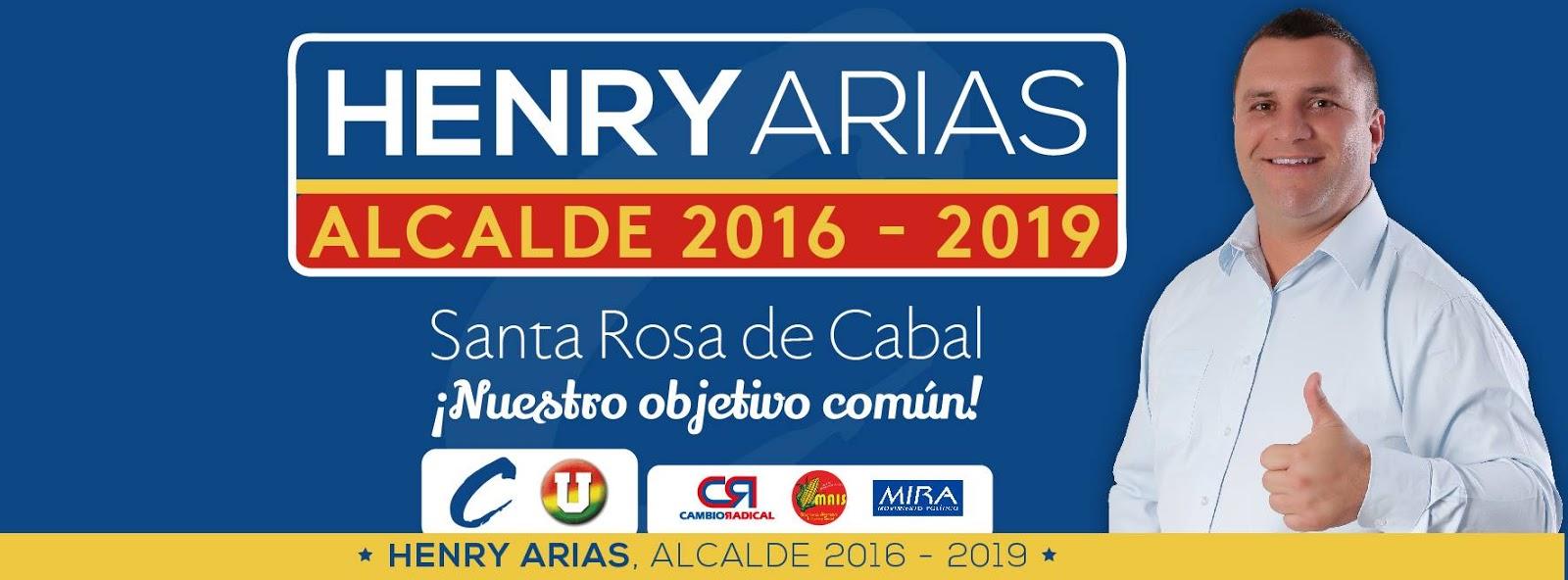 Resultado de imagen para henry arias mejia, alcalde de santa rosa de cabal