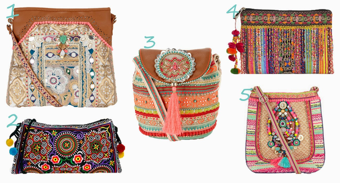Bohemian Bags Baking Fashion