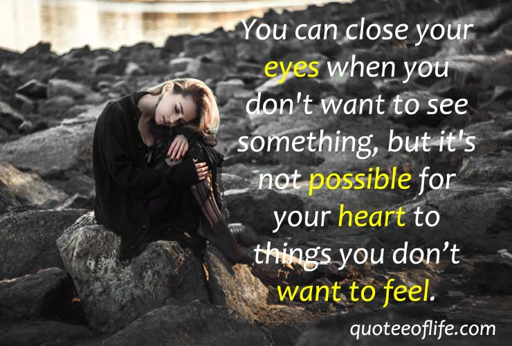 Sad Quotes On Love Broken Heart Quotes Quotee Of Life