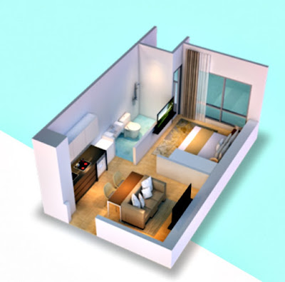 klaska residence tipe the rivira