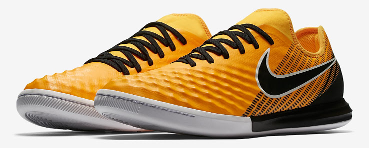 meet bbd01 fae48 The same applies to the  Laser Orange  Nike MagistaX Proximo II, which only  swaps the FG plate for something more fitting for indoor and turf surfaces.