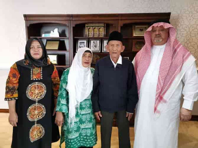 Its like a fairy tale, Indonesian Grandfather gets invitation to go Hajj from King Salman,