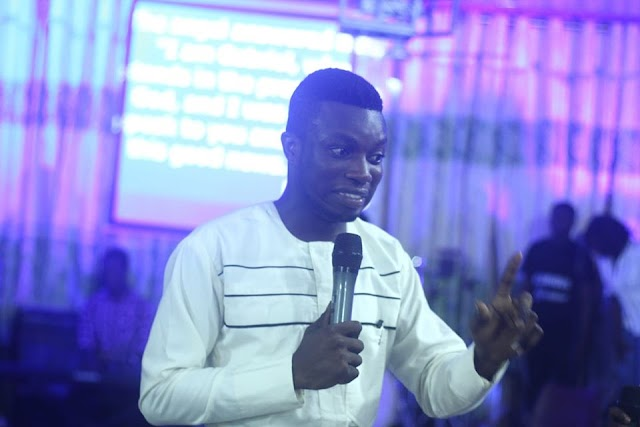 Meet Kwabena Jeff, the Prophet who started his ministry as a church cleaner