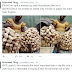Sweet! Nigerian man shows off mum who sells yam flour (Photos)
