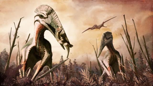 Hallan un fósil de pterosaurio gigante que pesaba hasta 300 kg en Reino Unido