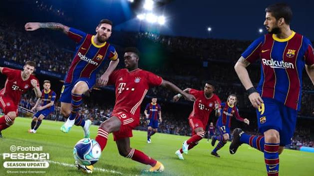 تحميل لعبة كرة القدم  PES 2021 للكمبيوتر روابط مباشر + تورنت