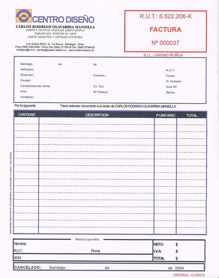 estudiantescomocientificos factura - formato de factura de venta