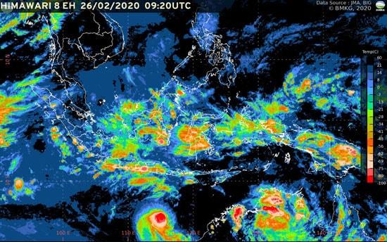 BMKG: Hujan Petir Diperkirakan Akan Terjadi di Wilayah Moga Sore Nanti