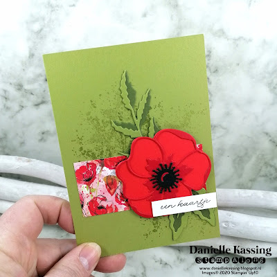 Stampin' Up! Painted Poppies