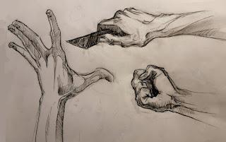 handen tekenen,handen leren tekenen, handen anatomie, handen schetsen,tekenles,tekenlessen