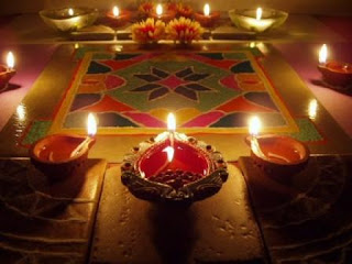 DIWALI DIYA DECORATION PICTURES