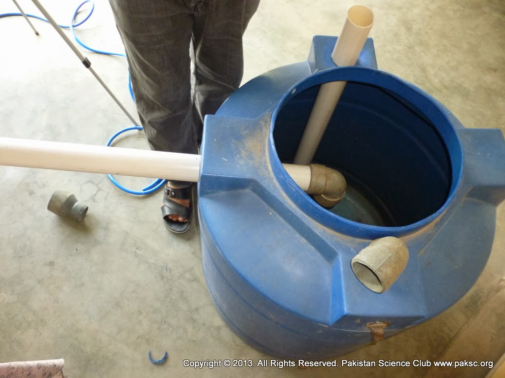 Make your own Homemade Biogas Plant -