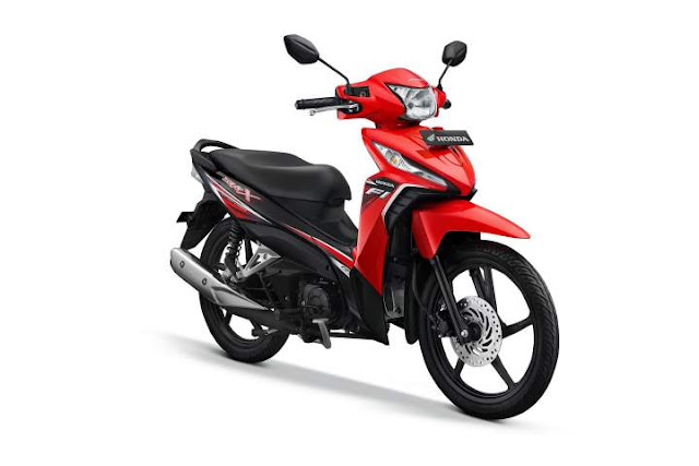 Warna New Honda Revo Attractive Red