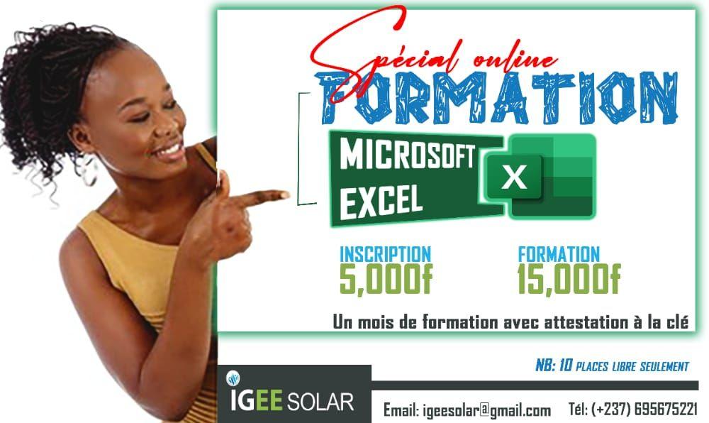 Formation Excel Spécial Online - 1 mois de formation avec attestation à la clé !