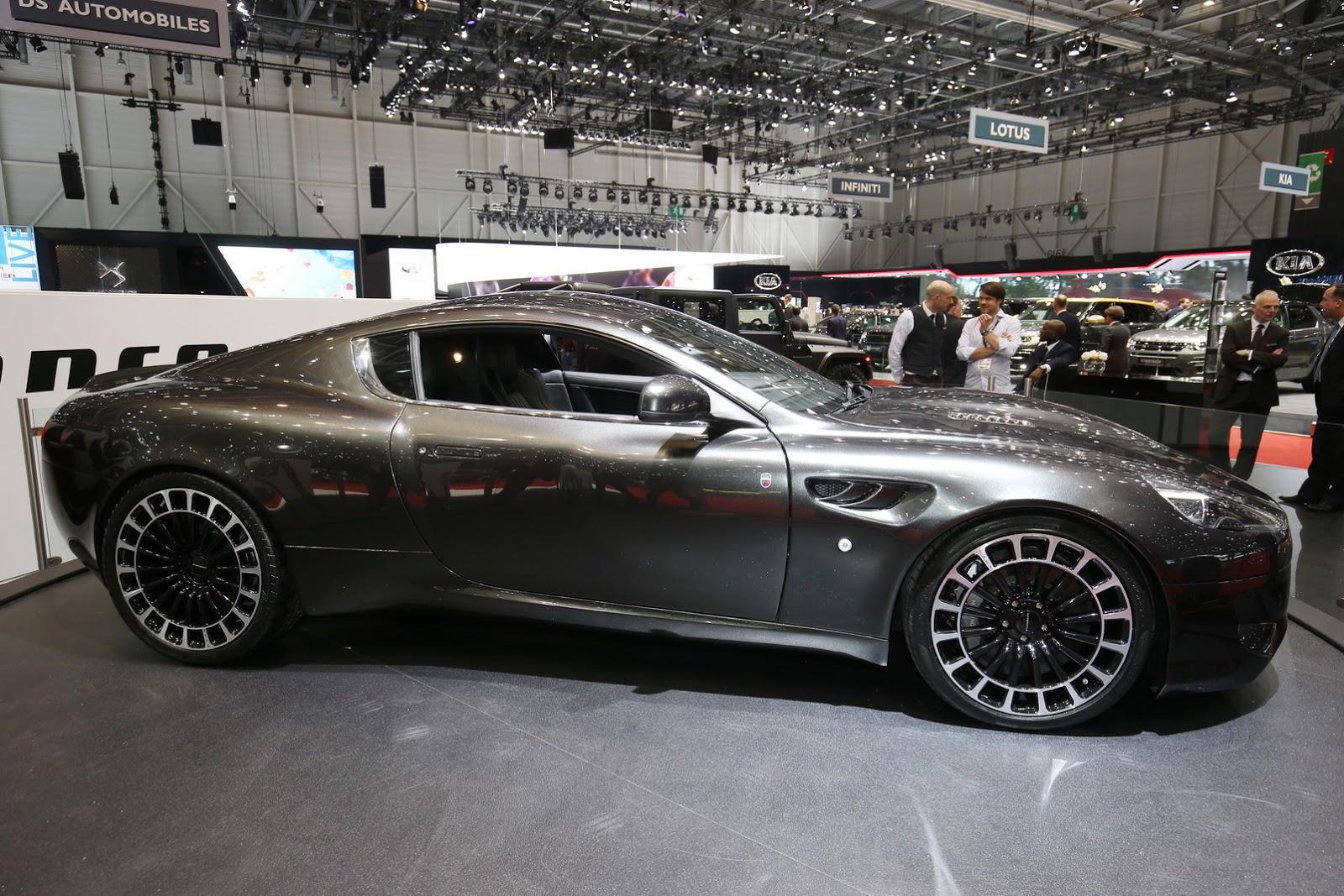 Aston Martin Vengeance có lẽ là bản độ đẹp nhất của DB9