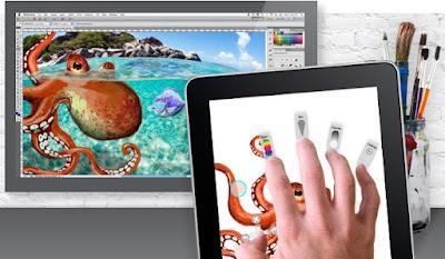 App Adobe Eazel iPad